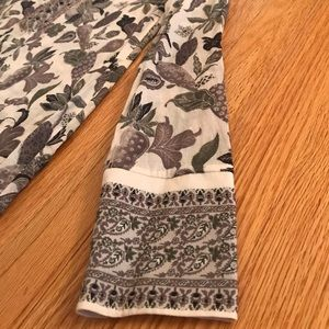Tory Burch Tops - Tory Burch Embellished Botanical Print Tunic
